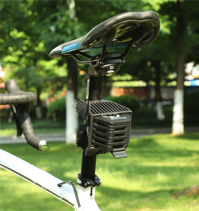 Folding Bicycle Chain Lock with Mount