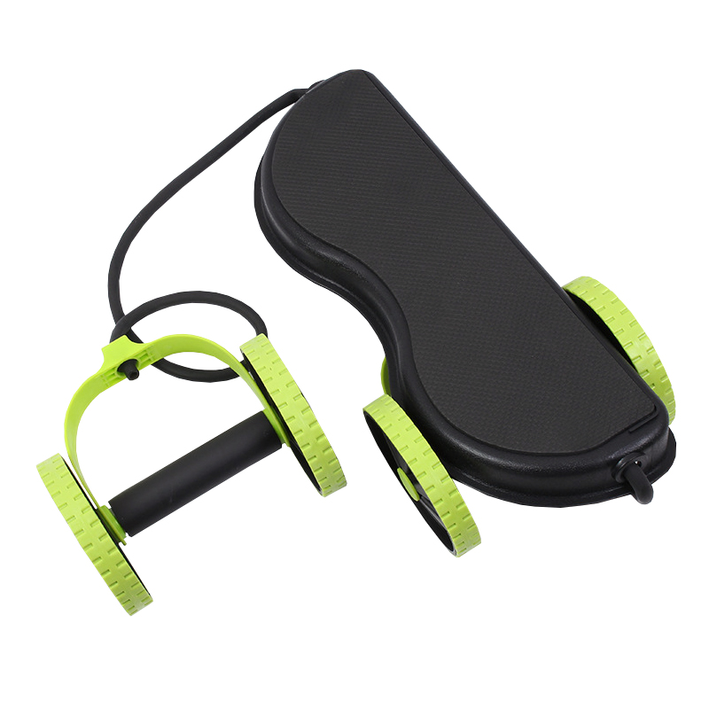 Workout Roller with Resistance Band